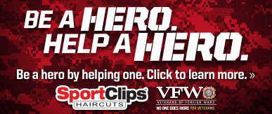 Sport Clips Haircuts of Louisville - Centennial Pavilions​ Help a Hero Campaign